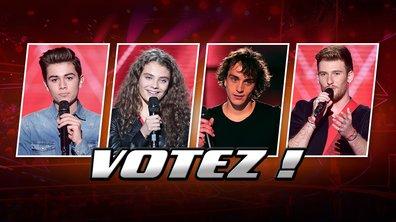Votez pour votre finaliste préféré !