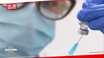 19h30 Médias – Covid : un test sérologique pour économiser les doses de vaccin