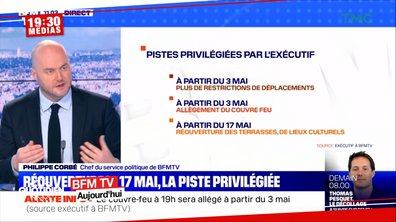 """19h30 Médias : déconfinement """"territorial"""", pour qui et pour quand ?"""