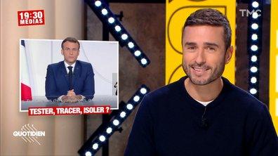 19h30 Médias : Emmanuel Macron peut-il mettre en place un isolement forcé des malades ?