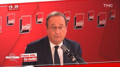 19h30 Médias : François Hollande dézingue Emmanuel Macron, mais gare au retour de bâton