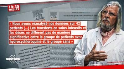 19h30 Médias: la face cachée de Didier Raoult