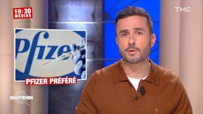 19h30 Médias : le vaccin Moderna boudé face à Pfizer