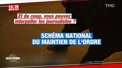 19h30 Médias: les journalistes vont-ils devoir se « signaler » avant de couvrir une manifestation ?