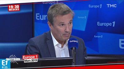 19h30 Médias : pour critiquer le couvre-feu, Nicolas Dupont-Aignan cite George Orwell (enfin, c'est ce qu'il croit)