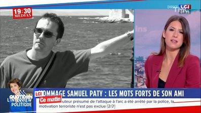 19h30 Médias : Samuel Paty, un an après
