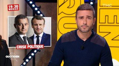 19h30 Médias – Violences policières : Emmanuel Macron et Gérald Darmanin dans la tourmente