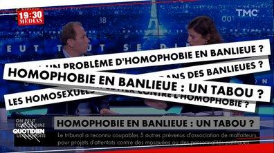 19h30 Médias : y-a-t-il vraiment plus d'homophobie en banlieue ?