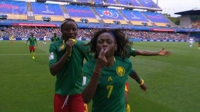 Cameroun - Nouvelle-Zélande (1 - 0) : Voir le but d'Ajara Njoya en vidéo