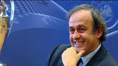 Platini réélu président de l'UEFA