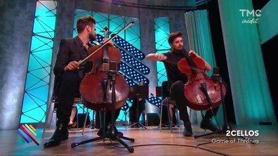 """2 Cellos - """"Game Of Thrones"""" sur la scène de Quotidien"""