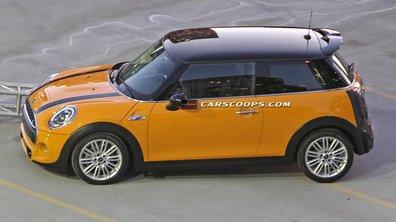 La nouvelle Mini Cooper S surprise sans son camouflage !