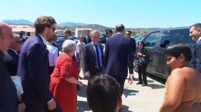 VIDÉO - En Corse, un enfant demande à Jacqueline Gourault si elle est la mère d'Edouard Philippe