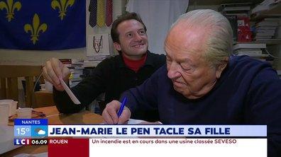 Jean-Marie Le Pen critique sa fille dans le tome 2 de ses Mémoires