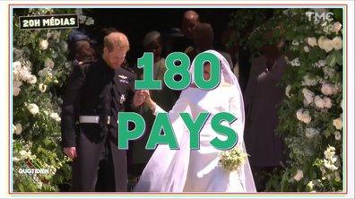 20h Médias : 3 milliards de téléspectateurs pour le Royal Wedding