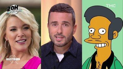 20h Médias : Apu des Simpsons disparaît de la série, la présentatrice Megyn Kelly virée pour racisme