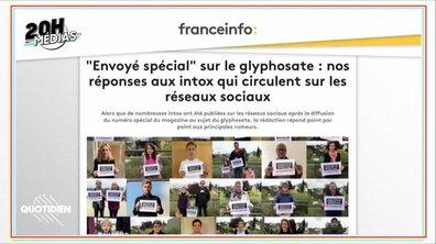 20h Médias : bataille médiatique autour du doc Envoyé Spécial sur le glyphosate