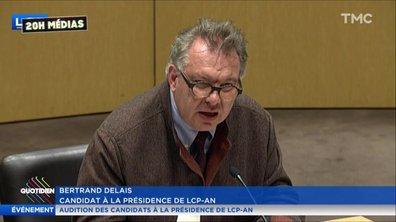 20h Médias : Bertrand Delais, proche d'Emmanuel Macron et nouveau patron de LCP