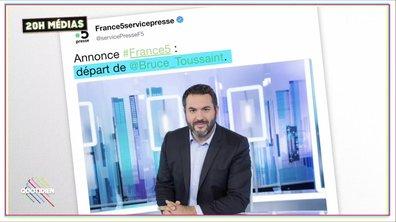 20h Médias : Bruce Toussaint rejoint BFMTV