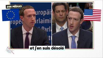 20h Médias : le copier-coller de Mark Zuckerberg face à l'Europe