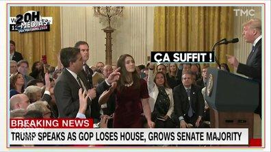 20h Médias : énorme clash entre Donald Trump et le journaliste de CNN Jim Acosta