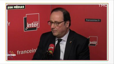 20h Médias : François Hollande serein, mais offensif