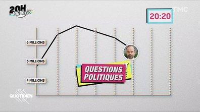 20h Médias : gros flop pour Edouard Philippe au JT de TF1