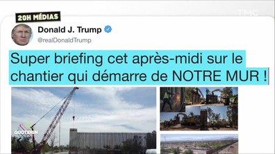 20h Médias : la grosse fake news de Donald Trump