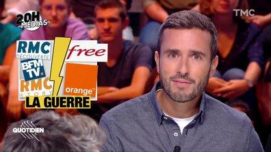 20h Médias : la guerre commerciale de BFMTV contre Free et Orange
