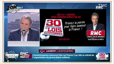 20h Médias : Jean-Jacques Bourdin organise son propre grand débat sur RMC
