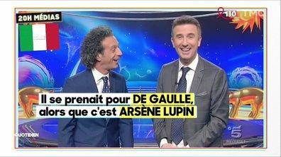20h Medias - L'affaire Sarkozy fait rire l'Italie