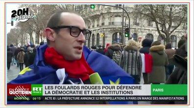 20h Médias : l'imposteur qui a trollé la marche des Foulards rouges