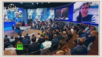 20h Médias : les larmes de Vladimir Poutine à la télévision russe
