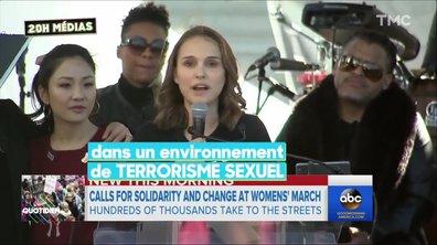 20H Medias : La Marche des Femmes, les battantes battent le pavé