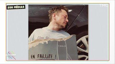 20h Médias : la mauvaise blague d'Elon Musk pour le 1er avril