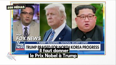 20h Médias : le Nobel pour Trump ?