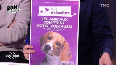 20h Médias : le Parti animaliste a-t-il souffert d'une sous-représentation dans la presse ?