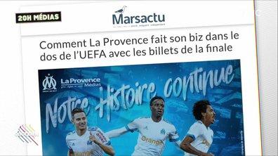 20h Médias : le patron de la Provence démissionne sur fond de faux billets pour l'OM