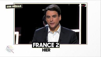 """20h Médias : premier raté pour Julian Bugier et ses """"Questions directes"""""""