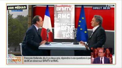 20h Médias : la présidence bavarde de François Hollande