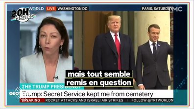 20h Médias : les raisons de la colère de Donald Trump contre la France