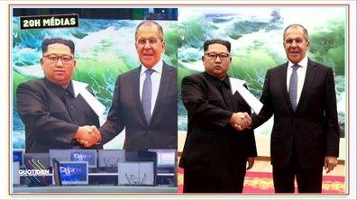 20h Médias : la Russie photoshope Kim Jong-un, pas assez souriant