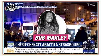 "20h Médias : le tireur de Strasbourg abattu, BFMTV diffuse ""I shot the sheriff"""