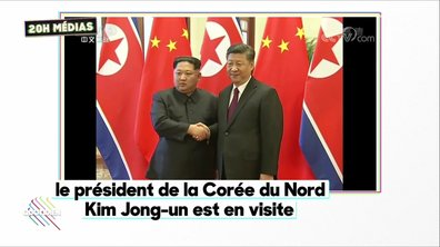 20h Médias : visite historique de Kim Jong-un en Chine