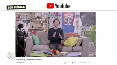 20h Médias : les Youtubeurs au secours de Jean-Michel Blanquer