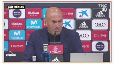 20h Médias : Zidane quitte le Real, déflagration dans le football