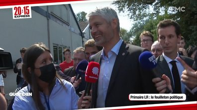 20h15 Express - Primaire de la droite : Laurent Wauquiez, faiseur de roi ?