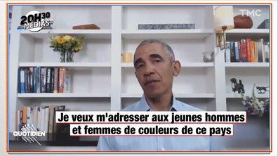 20h30 Médias : Barack Obama s'exprime pour la première fois après la mort de George Floyd
