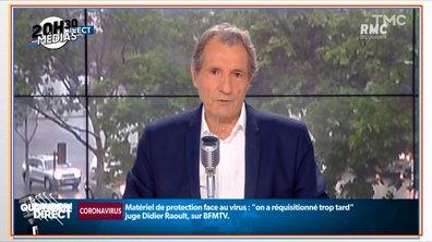 20h30 Médias : Jean-Jacques Bourdin raccroche, fini la matinale de RMC
