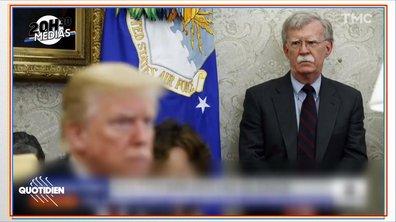 20h30 Médias : John Bolton, l'homme qui pourrait coûter à Donald Trump sa réélection